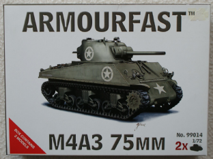 Armourfast 20mm 99014 M4A3 75mm Sherman